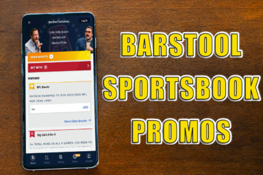 Barstool Sportsbook promos feature can't-miss football bonuses this weekend