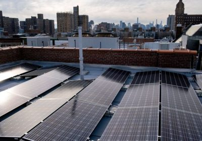 Close to 50 New York City public schools will get rooftop solar panels next year under initiative to reduce state's carbon footprint