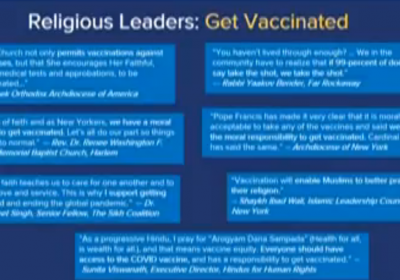 What Are Religious Exemptions to NY COVID Vaccine Mandate? – NBC New York